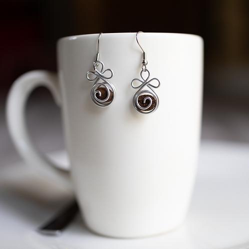 Coffee Blossom Earrings