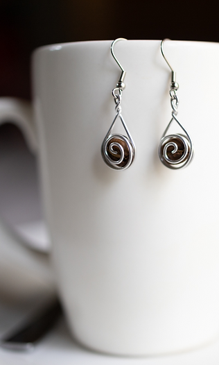 Original Coffee Bean Earrings