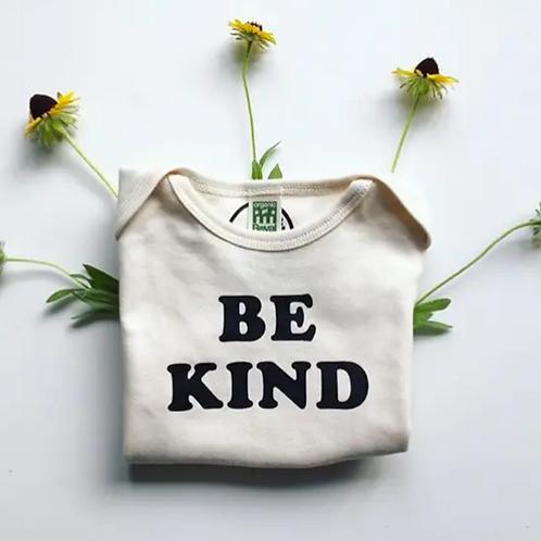 Organic Cotton Baby Onsie- Be Kind