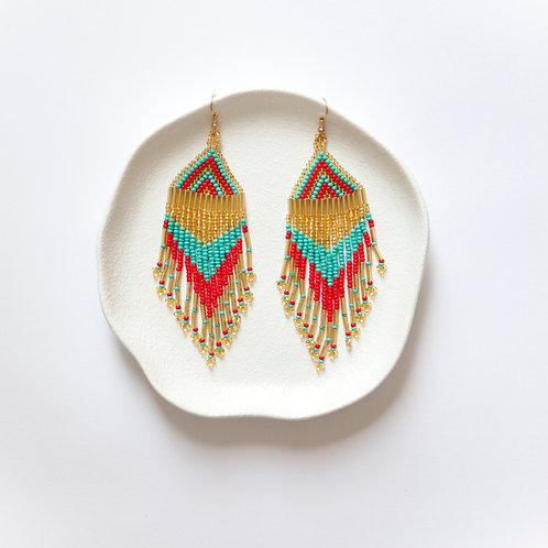 Flirty Fringe Earrings