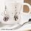 Thumbnail: Coffee Bean Earrings: 4 pack