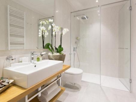 Pisos de duchas eficientes