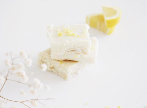 Simple Vegan Lemon Bars