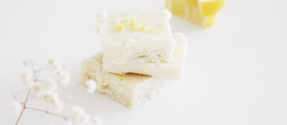 Simple Vegan Lemon Bars