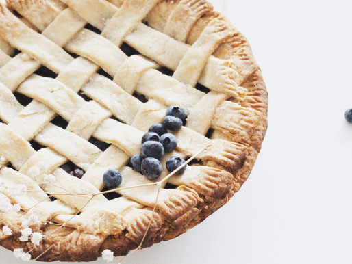 Classic Vegan Blueberry Pie
