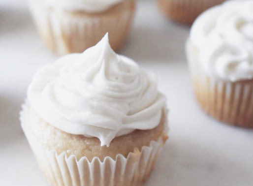 Vegan Vanilla Cupcakes!