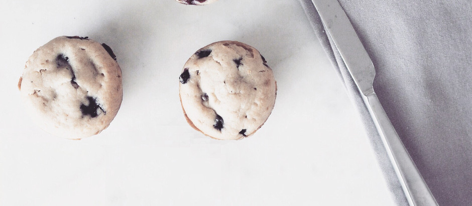 Vegan Blueberry Muffins!