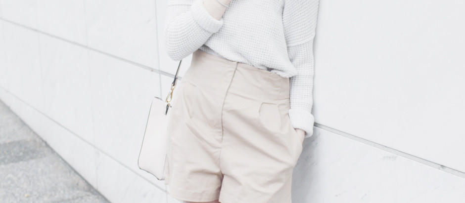 White Knit Fall Transitional: Outfit Details
