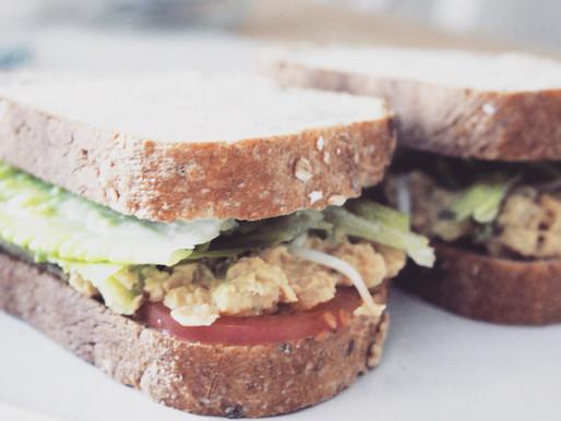Vegan Chickpea Salad Sandwiches