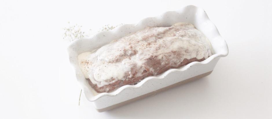 Vegan Glazed Pumpkin Loaf