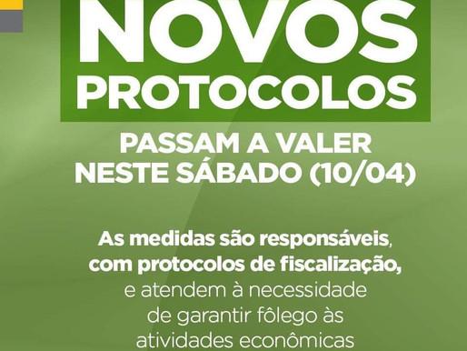 GRAMADO  Confira os novos protocolos que passam a valer a partir de hoje (10/04)