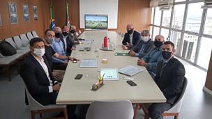Legislativo participa de reunião em Porto Alegre para apresentar projeto para a Várzea Grande