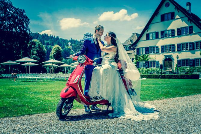 Mediterrane Hochzeit im Bocken