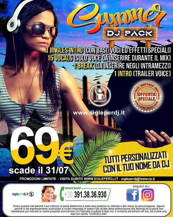 immagine newsletter summer dj pack (giug