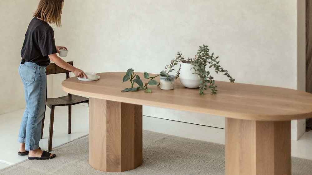 table dining furniture design interior design australian made sustainable