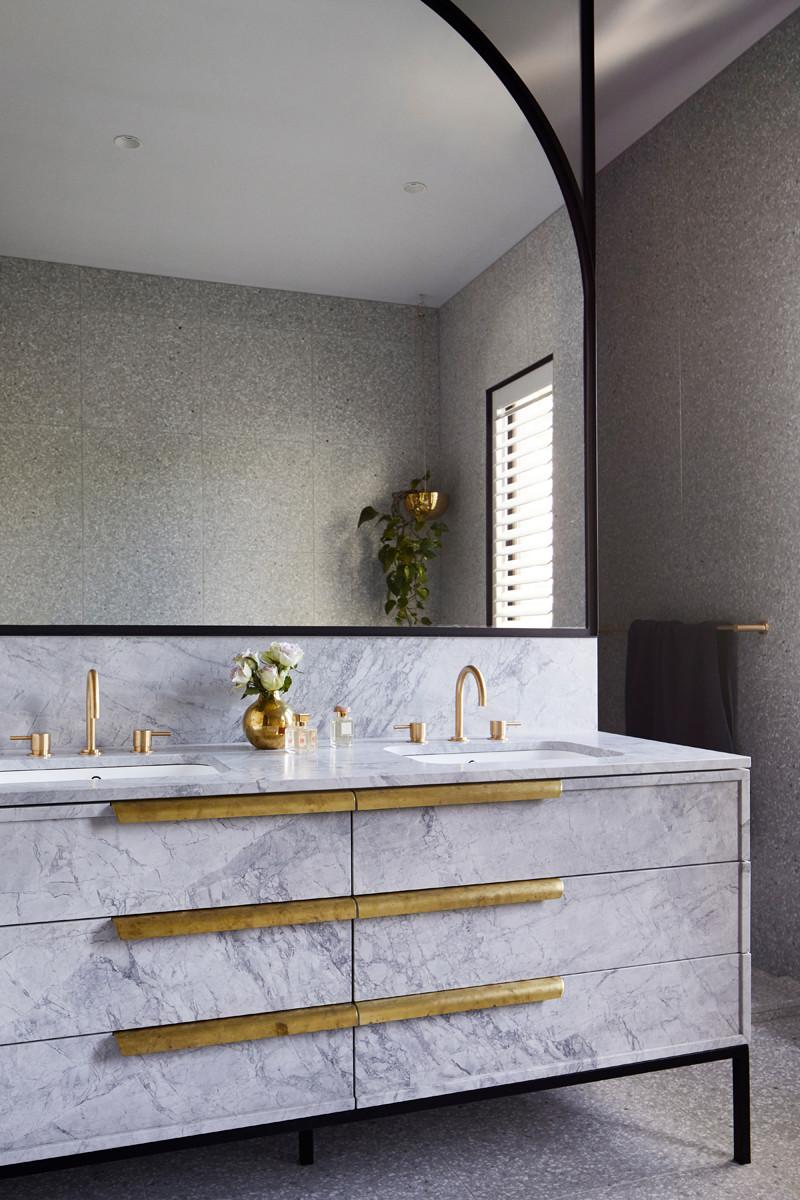 bathroom architecture interior design interiors home taps marble sustainable