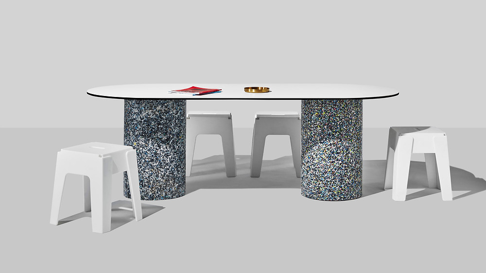 Recycled Plastic Dining Table Design By Them