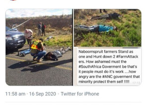 Faked Farm Attack Social Media Posts Encourages Vigilantism