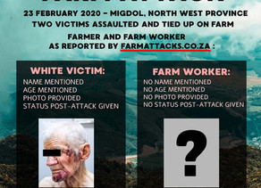 One way in which the reality of farm attacks is being distorted