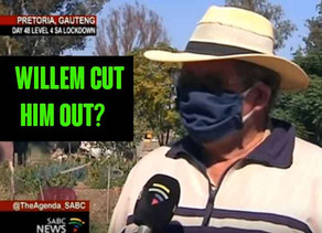 Our shot for shot response to Willem Petzer's video - SABC Interview at the White Squatter camp