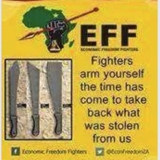 """Highly dubious old """"EFF Poster"""". If there ever was a poster like this it would definitely not be in English."""