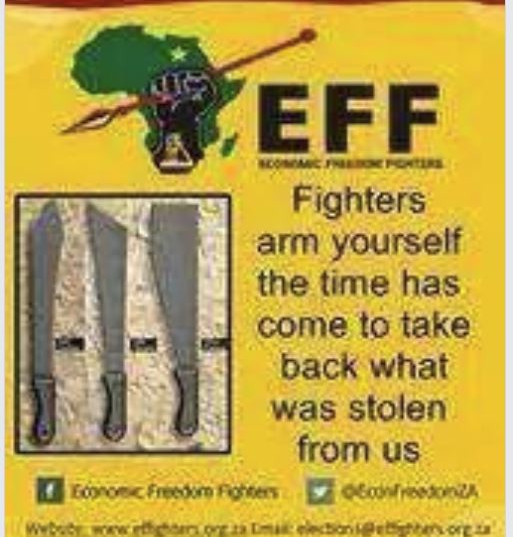 "Highly dubious old ""EFF Poster"". If there ever was a poster like this it would definitely not be in English."
