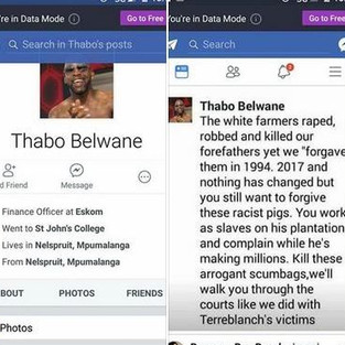 There was no Thabo and the photo was stolen from an Ibiza resident DJ.