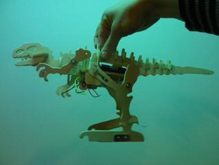 ROBOT DINO atelier AV.lab for kids
