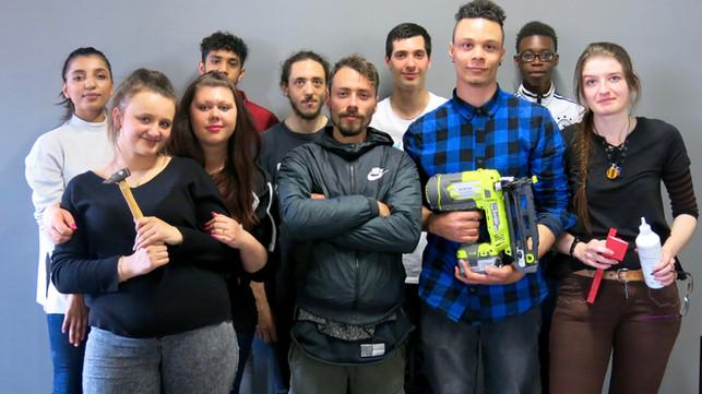 Des jeunes donnent vie à leurs visions d'Ostwald grâce aux outils numériques du fablab d'AV.