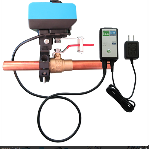 Econet BullDog HC2LXL Smart Water Valve Controller with ZWave