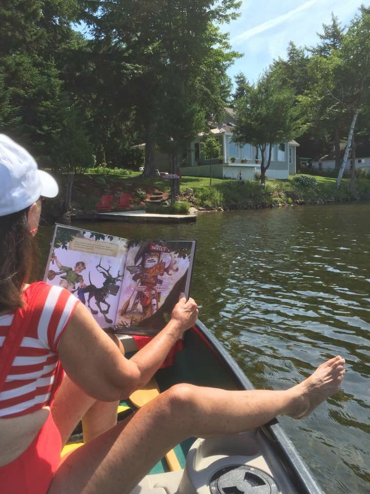 Mum In Canoe