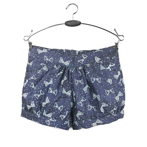 Bow Denim Shorts [SIZE 5]