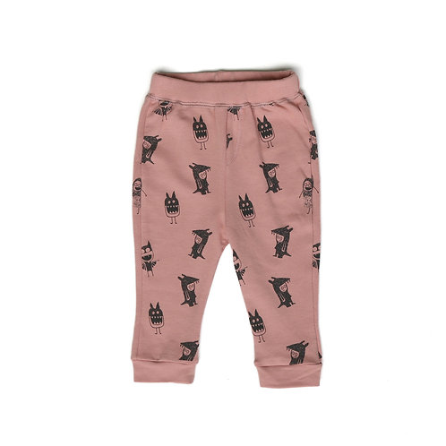 Monster Pants - Pink