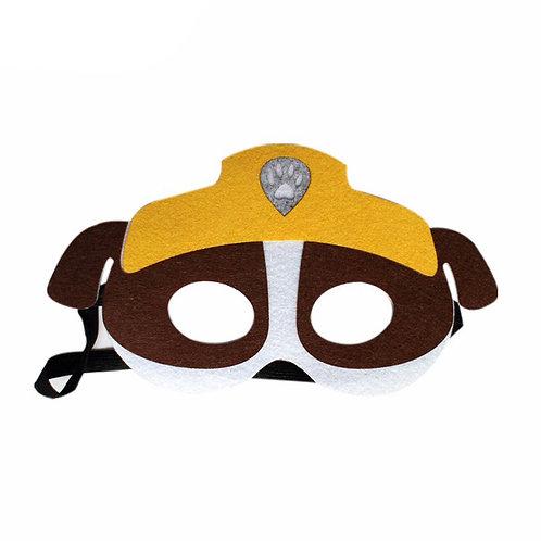 Paw Patrol Mask - Rubble