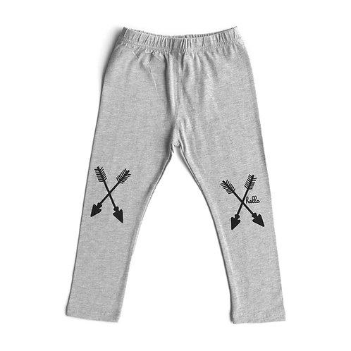 Arrow Leggings - Grey