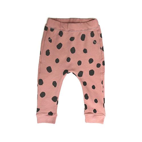 Spot Pants - Pink