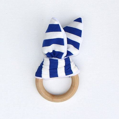 Teether - Blue Stripes