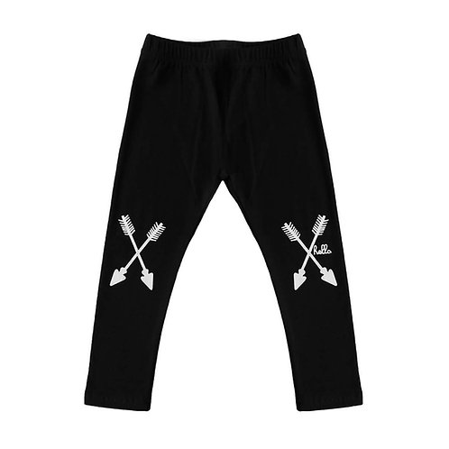 Arrow Leggings - Black