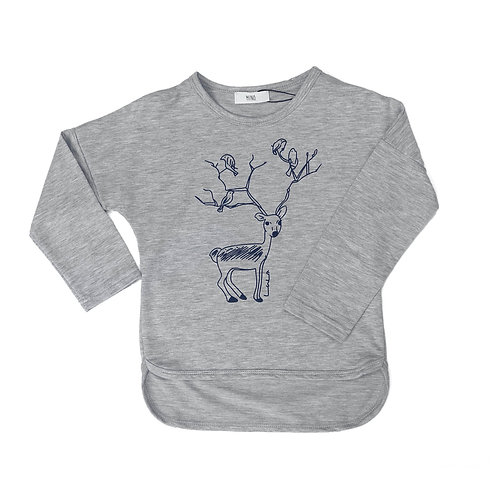 Lala Deer - Grey