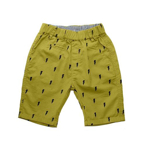 Lightening Shorts - Mustard [SIZE 5]
