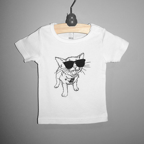 Blues Kitty Tee