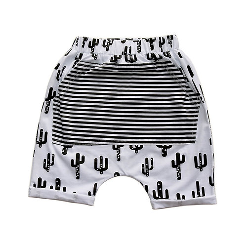 Cactus Harem Shorts [SIZES 3-4 & 4-5]