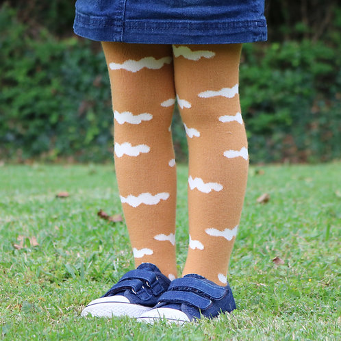 Mustard Cloud Stockings