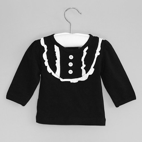 RYB - Black Frill Top