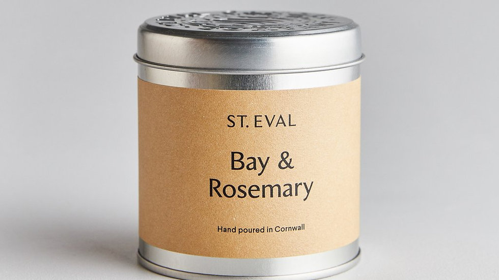St Eval candle tin