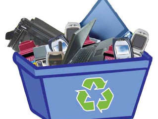 Millions of tons of technology are pitched into the trash or taken to recycling centers each year. W