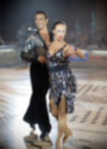 Ivailo and Alyona - professional ballroom latin-american dancers, teachers, World Dance Council licensed adjudicators