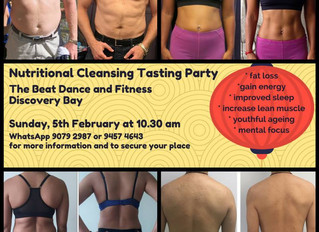 Nutritional Cleansing Tasting Party