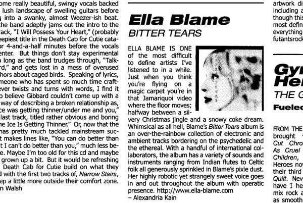 Bitter Tears Review by Alexandria Kain