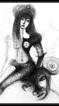 Desire - Drawing by Ella Blame